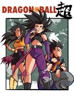 Cabba x Vados Saga (Dragon Ball Super) - free adult comics ...